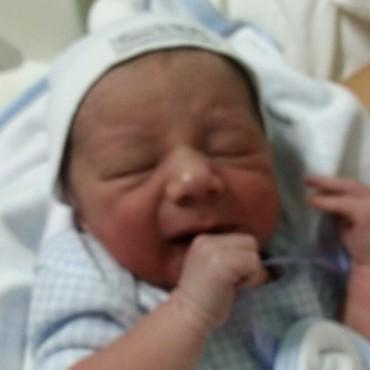 Ciro el primer bebé bolivarense del 2015