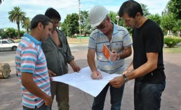 Avanza la obra de refuncionalización y modernización del Centro Cívico