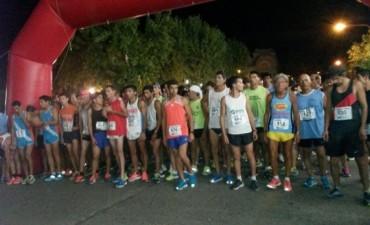 Miguel Guerra ganó la Maratón Nocturna de Pehuajo