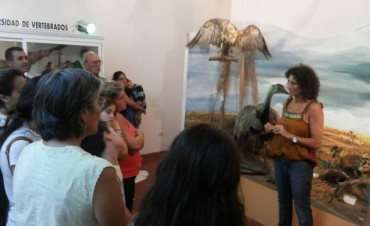 Se desarrolló con éxito la primera visita guiada al Museo Municipal