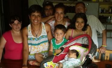 Dana Erina Chávez, la primera beba del 2016, ya se encuentra en su casa