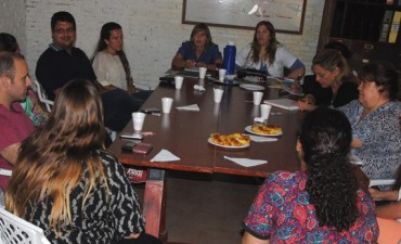 El Servicio Local de Bolívar se reunió con su par de Daireaux