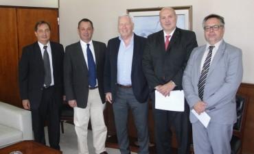 Alvear: Cellillo acordó con el ministro de justicia dotar de material tecnológico a la Unidad 30