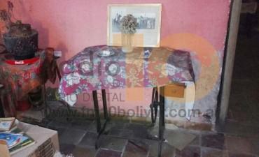 Denunciaron sistemáticos robos de objetos antiguos en una vivienda de calle Alberti