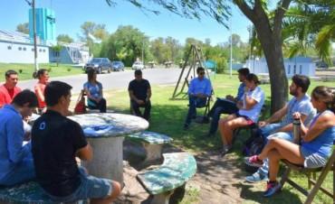 El intendente Bucca se reunió con los profes de las escuelas de deporte