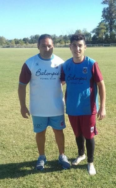 Tiago Pato será el nuevo arquero de Balonpié