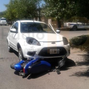Accidente en Borges y Saavedra: Varios heridos y en algunos casos con fracturas