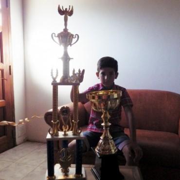 Speedway Internacional : Un joven piloto bolivarense se coronó campeón
