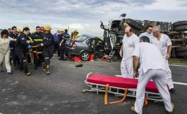 Las muertes por accidentes de tránsito equivalen a la caída de un avión por semana