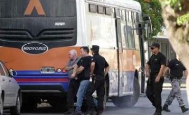 Triple fuga: cinco de los detenidos fueron traídos a la Fiscalía General