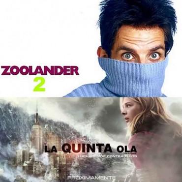 'Zoolander 2' y 'La Quinta Ola' están en el Cine avenida