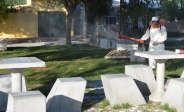 La Municipalidad continúa el operativo de fumigación terrestre