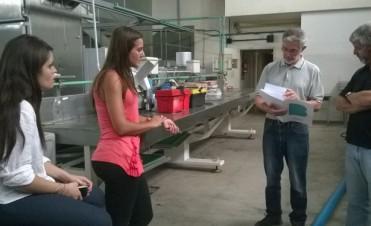 Se realizó una visita al INTI en Mar del Plata para fortalecer la Feria Verde