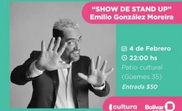 Show de stand up, el sábado, en el Patio Cultural
