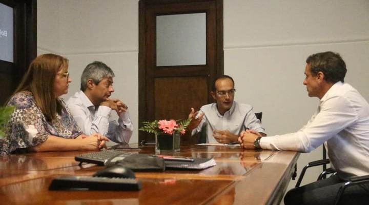 Pisano se reunió con los secretarios de la Facultad de UNICEN