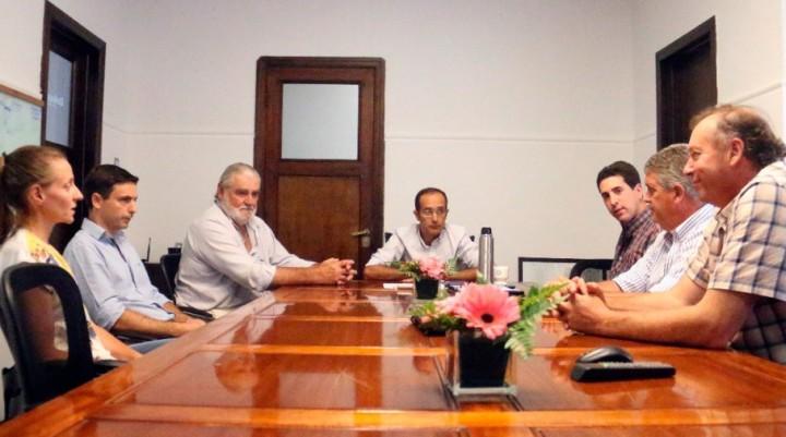 Pisano se reunió con Acopiadores de Bolívar