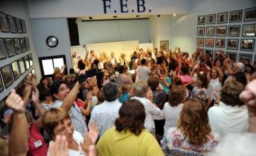 Docentes de la FEB anunciaron un nuevo paro de 72 horas