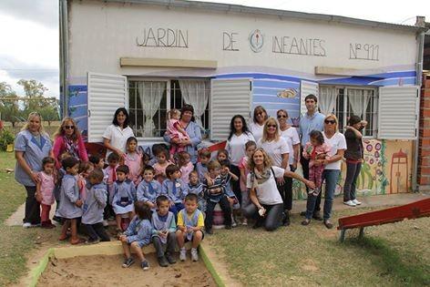 39 uniendo sonrisas 39 y la coope realizaron donaciones al for Jardin 911