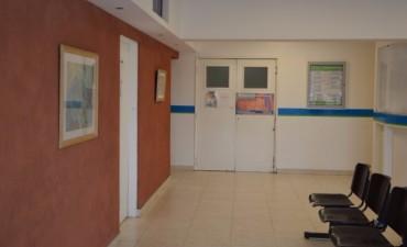 Se realizan trabajos de mantenimiento en el Servicio de Emergencias del Hospital