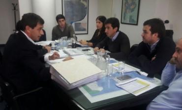 El intendente Bucca presentó un listado de obras ante el ministro Cenzón