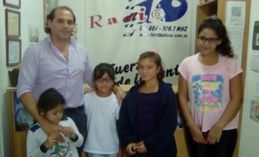 La Orquesta Escuela tocó el himno en el autódromo Emiliozzi de Olavarría