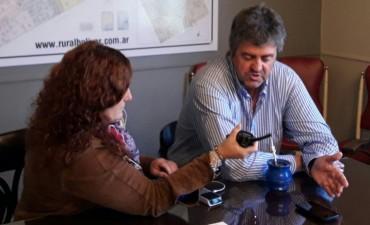 """Fernando Alzueta: """"Ya el 30% de la cosecha es irrecuperable y el resto depende de las condiciones climáticas"""""""