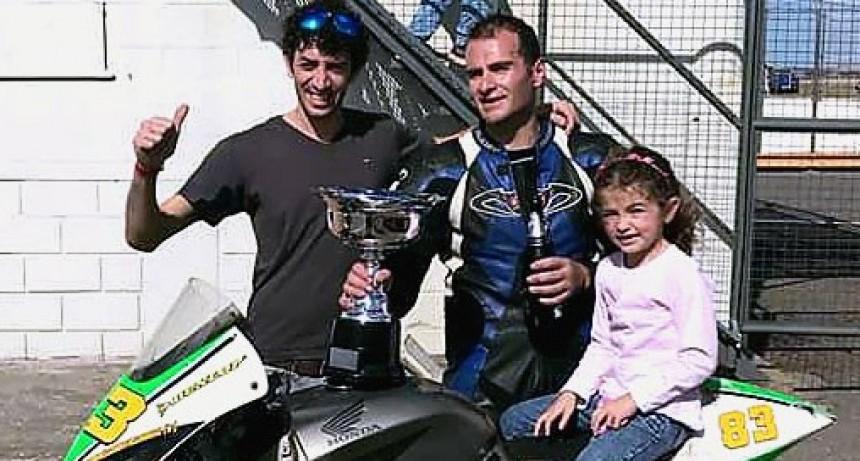 Motociclismo: Martín Villarreal participó de la carrera de Olavarría
