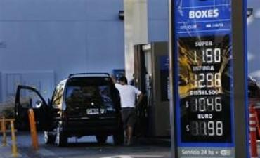 Los combustibles aumentaron por segunda vez en el año