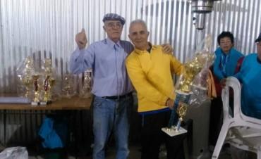 Este fin de semana se realizó un Campeonato de Tejo por parejas en Bolívar