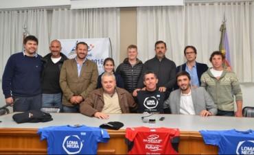 Olavarría: Lucas Díaz Aspiroz presentó la #MisiónRío2016