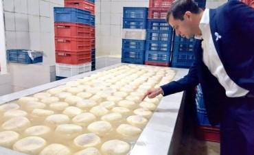 El intendente Bucca visitó la fábrica de lácteos 'El Holando'