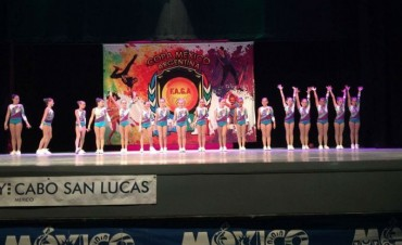 Gimnasia Aeróbica: Las chicas del 'Club Ciudad' son campeonas en la Copa México