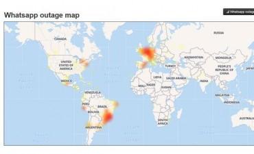 Se cayó Whatsapp a nivel mundial y se multiplicaron las quejas en la red