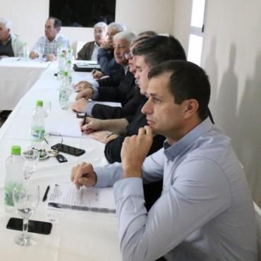 FEDERACIÓN DE NUCLEAMIENTO EMPRESARIAL DEL NOROESTE BONAERENSE: El Intendente participó de un encuentro empresarial en la Cámara Comercial