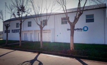 MÁS INFRAESTRUCTURA DEPORTIVA: El Intendente Bucca reinaugura el Gimnasio Municipal de Urdampilleta