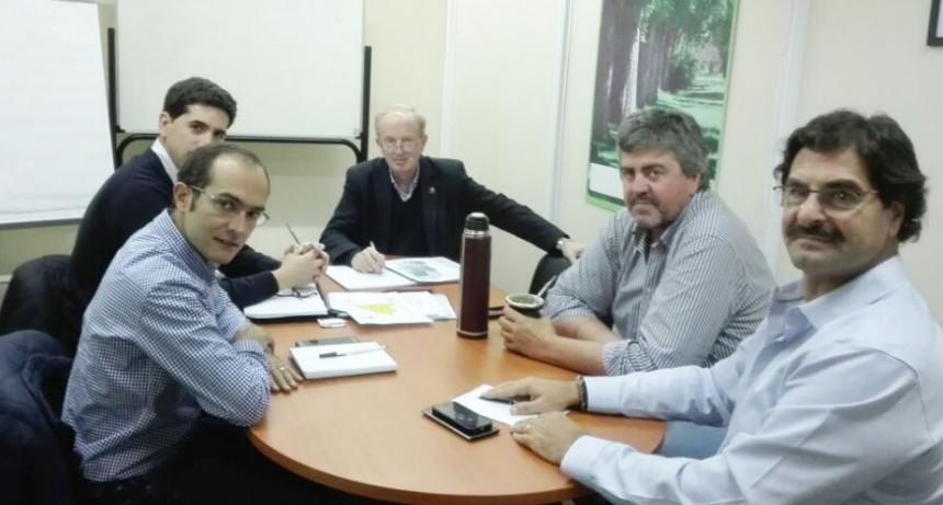 Pisano se reunió con el Ministro Sarquis