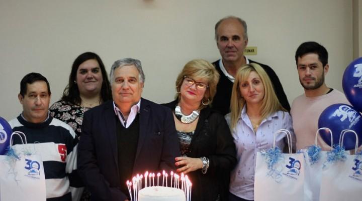 Rubén Montero celebró 30 años de actividad comercial