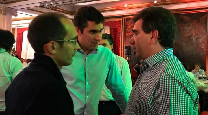 Pisano y Mosca se reunieron con Ritondo, por la seguridad de Bolívar