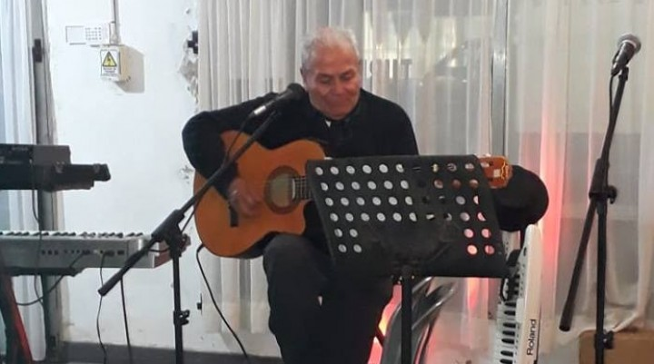 Oscar Cardoso presentó su nuevo trabajo discográfico en Bolívar