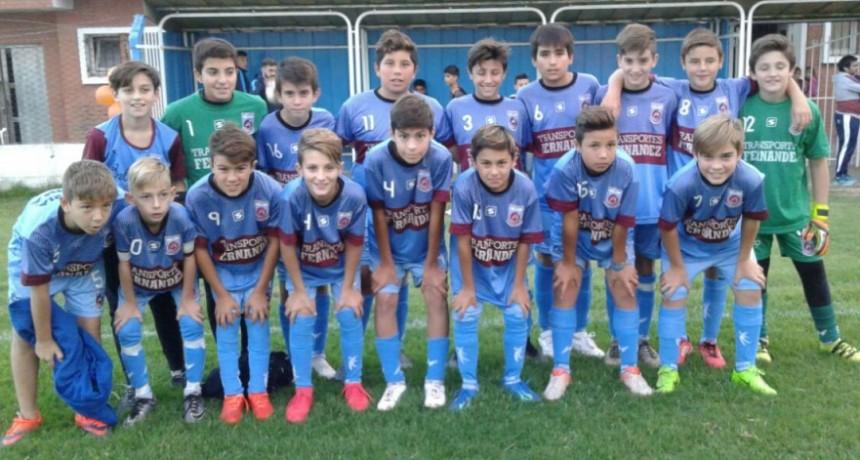 Divisiones Inferiores:Empleados visita a Urdampilleta por la 6º fecha del torneo