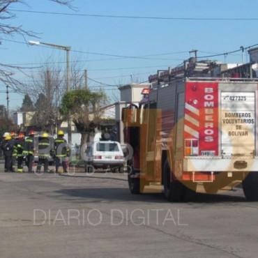Fuga de gas en Saavedra 65