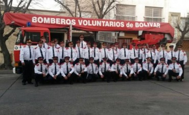 Bomberos Voluntarios de Bolívar celebran su día