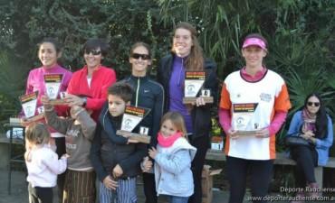 Silvina Arredondo y Franco Marchessi fueron los mejores bolivarenses en Rauch