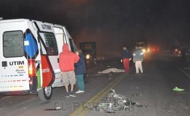 Olavarría: Motociclista murió en un accidente en Ruta 51 y Autopista Fortabat