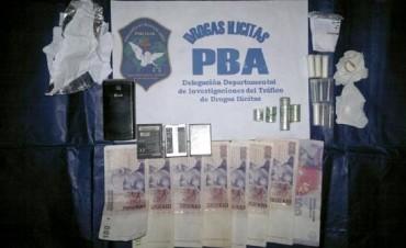 Olavarría: Tras allanamientos, secuestran cocaína en un domicilio