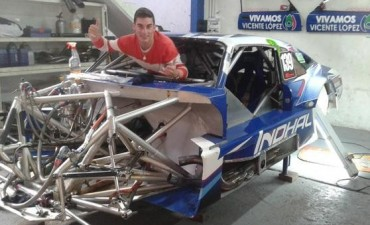 Falleció el piloto Denis Martín en accidente automovilístico