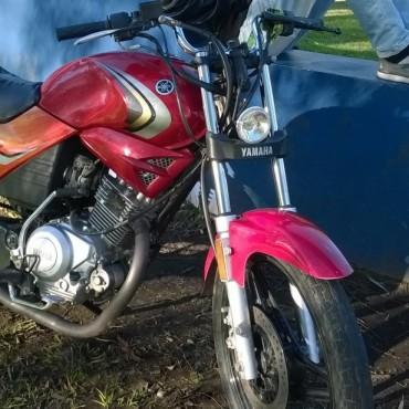 Robaron una moto en la calle Falucho