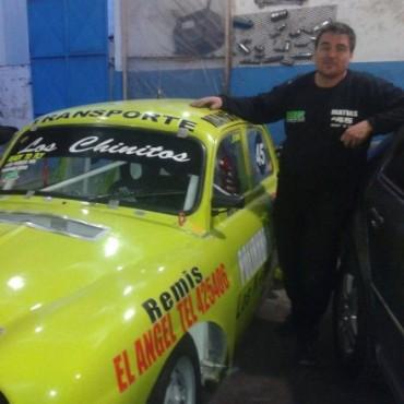 Matías Gajate y su 'Gordini' quieren dar pelea en Urdampilleta