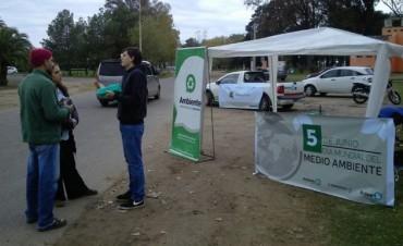 Se realizó un evento en el parque por el Día Mundial del Medioambiente