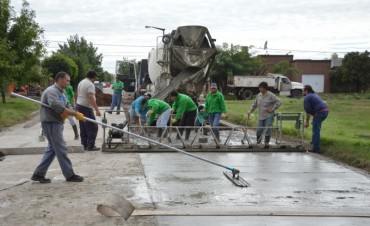 Este viernes el Intendente inaugura el pavimento en barrio Solidaridad